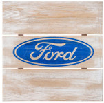 Ford Logo Wood Wall Decor