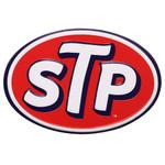 STP Logo Embossed Tin Magnet