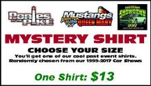 Mystery Shirt - Past Car Show Apparel - 1 Shirt