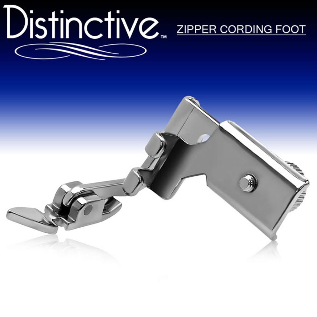Distinctive Zipper Cording Sewing Presser Foot Cool Husqvarna Sewing Machine Zipper Foot