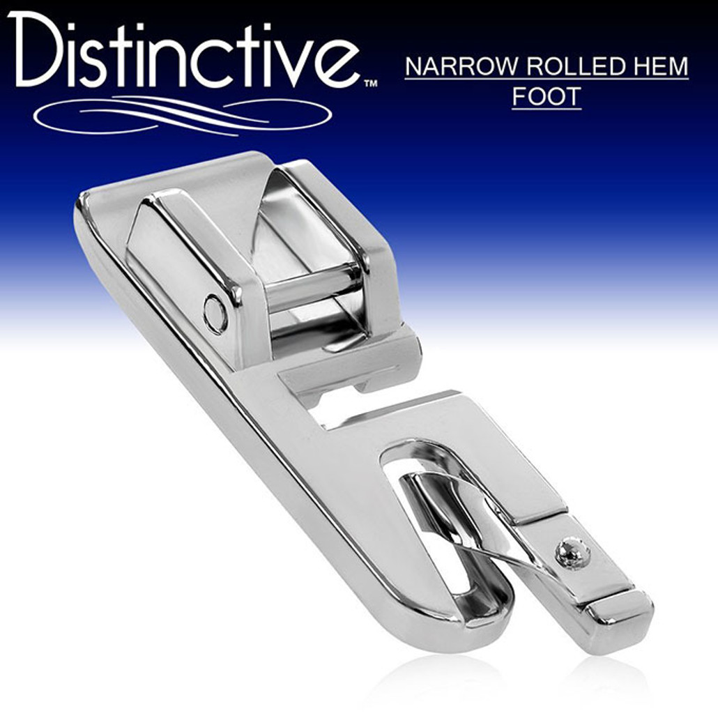 Distinctive Narrow Rolled Hem Sewing Presser Foot Adorable Rolled Hem Foot For Brother Sewing Machine