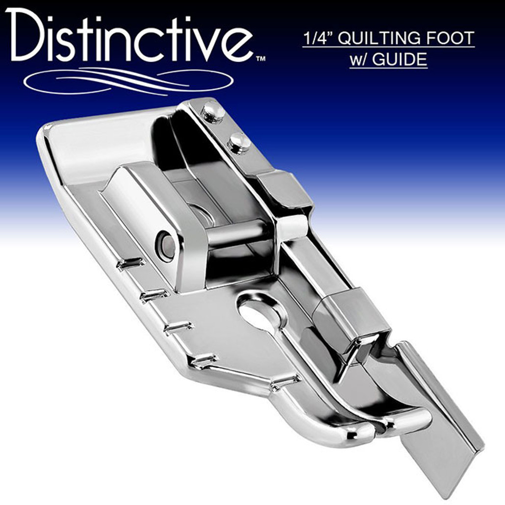 """Distinctive 40040"""" QuiltingSewing Foot W Edge Guide Amazing 1 4 Inch Sewing Machine Foot"""