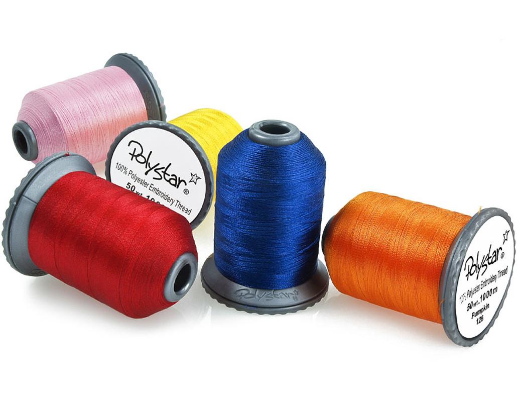 Polystar Embroidery Thread Spool Single Spools