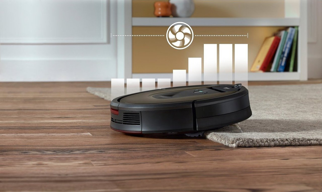 IRobot Roomba 980 Automatic Robotic Vacuum Cleaner w/ FREE Overnight Delivery!