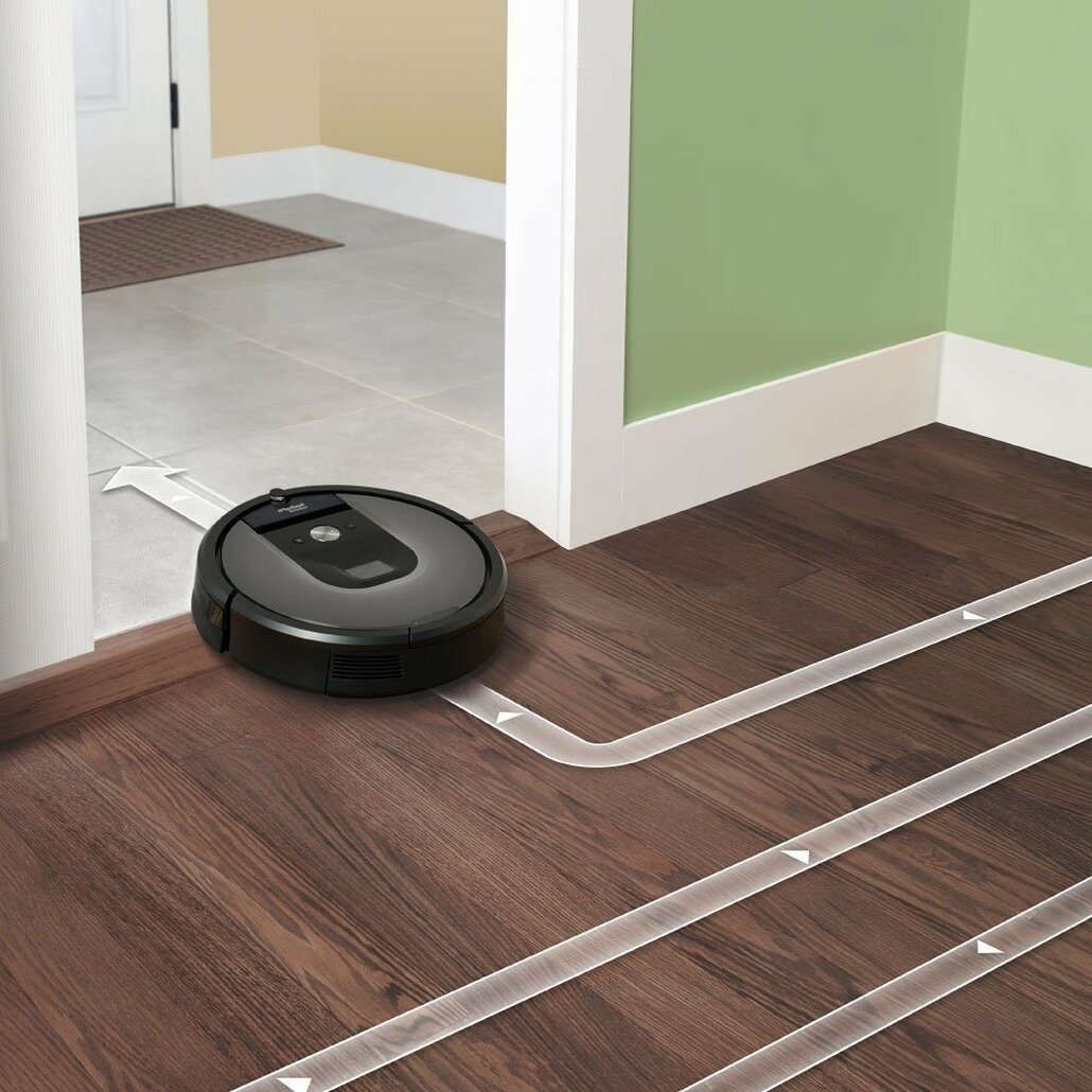IRobot Roomba 960 Automatic Robotic Vacuum Cleaner w/ FREE Overnight Delivery!