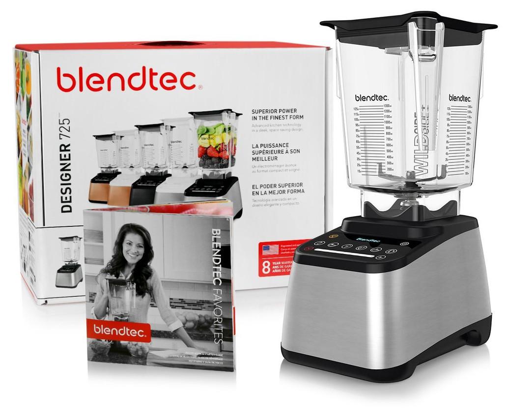 Blendtec Designer 725 Blender w/ FREE Overnight Delivery!