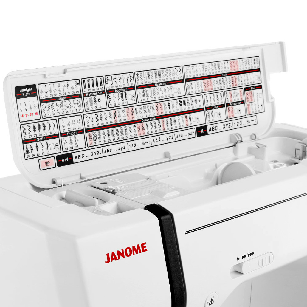 Janome Memory Craft 9900 Computerized Sewing and Embroidery Machine w/ FREE! Next-Day Shipping