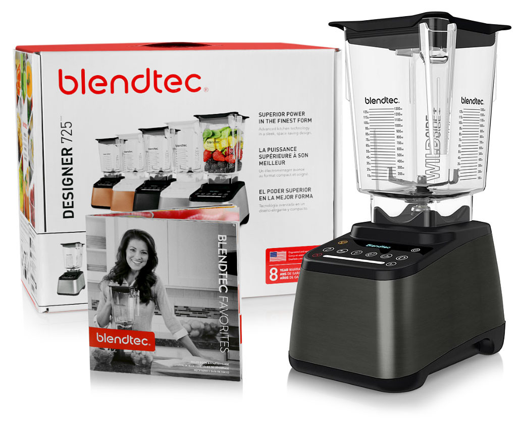 Blendtec Designer 725 Gunmetal Blender w/ FREE Overnight Delivery!