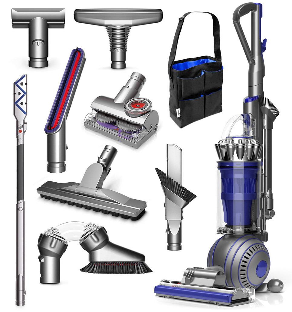 Elegant Dyson Ball Animal 2 Total Clean Bagless Upright Vacuum Cleaner