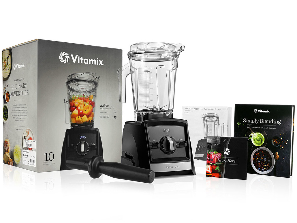 Vitamix A2300 Black Ascent Series Blender w/ FREE Overnight Delivery!