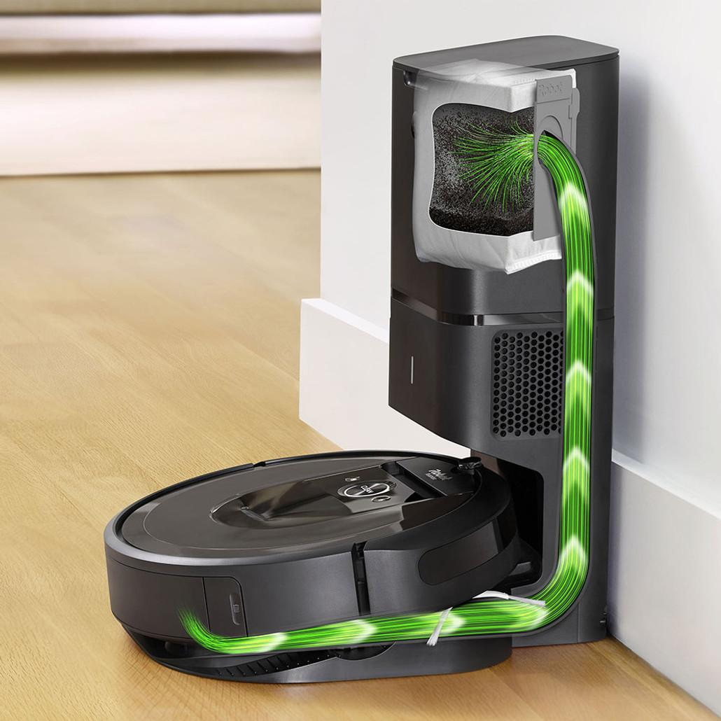 iRobot Roomba i7+ ( i7 Plus ) Automatic Robotic Vacuum Cleaner w/ Free Genuine Replenishment Kit ($49.99 Value)