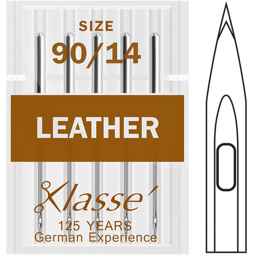 Klasse Leather 90-14 Sewing Needles