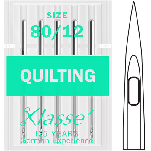 Klasse Quilting 80-12 Sewing Needles