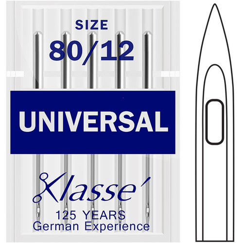 Klasse Universal 80-12 Sewing Needles