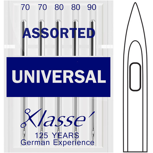 Klasse Universal Assorted Sewing Needles