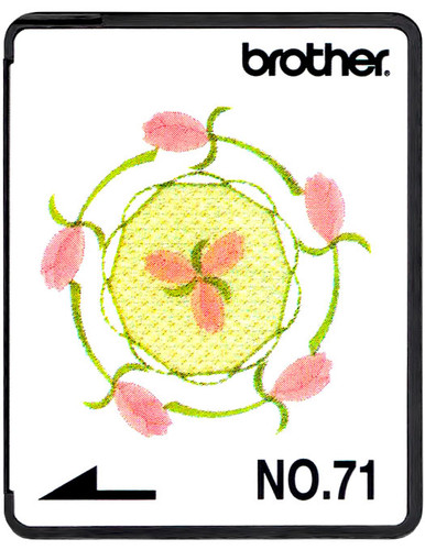 Brother Embroidery Card SA371 No.71 - Heirloom