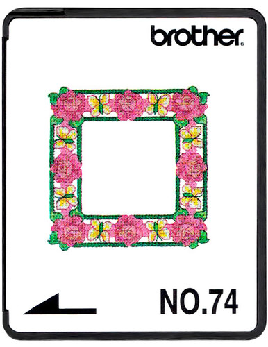 Brother Embroidery Card SA374 No.74 - Scrapbooking