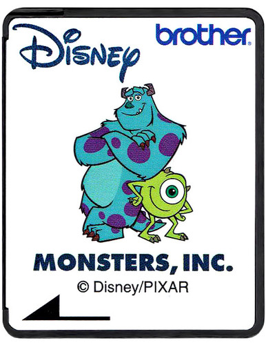 Brother Disney Embroidery Card SA310D - Monsters, Inc.