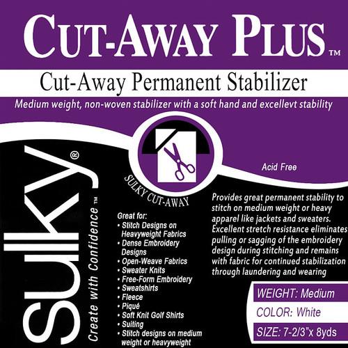 Sulky Cutaway Plus Stabilizer 7 2/3 in x 8 yd