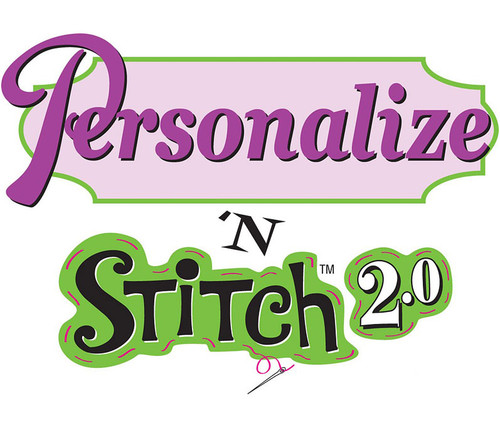 Amazing Designs Personalize N Stitch 2.0 Embroidery Software w/ Lettering, Monogramming and More!