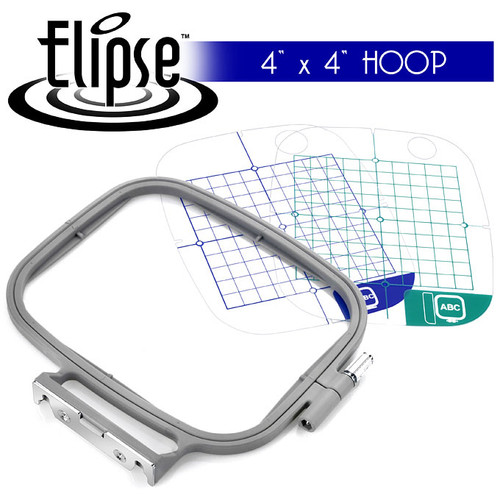 Elipse 4 Hoop Embroidery Package Free Shipping