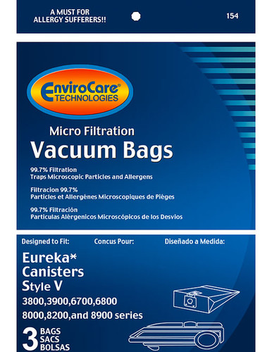 EnviroCare® Micro-Filtration White Westinghouse VIP 9530 Vacuum Cleaner Bags