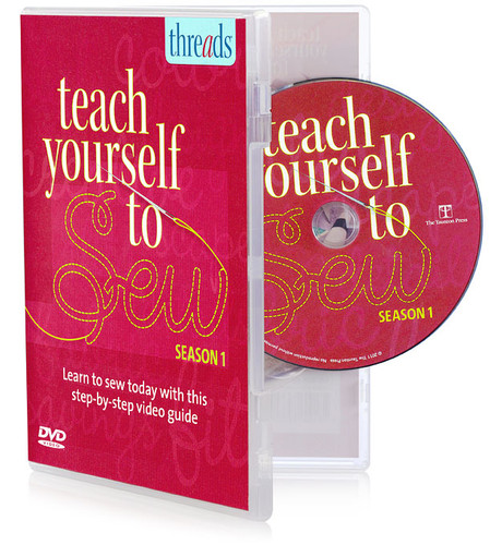 Teach Yourself to Sew Instructional How-To DVD