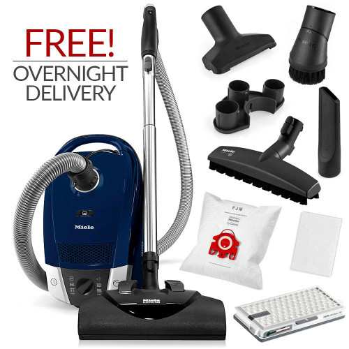 Miele Compact C2 Electro+ Canister Vacuum Cleaner w/ FREE Overnight Delivery!