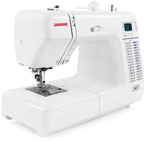 Janome 8077 30-Stitch Computerized Sewing Machine w/ FREE! 2nd-Day Shipping