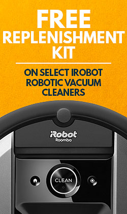 Free Replenishment Kit on Select iRobot Vacuum Cleaners