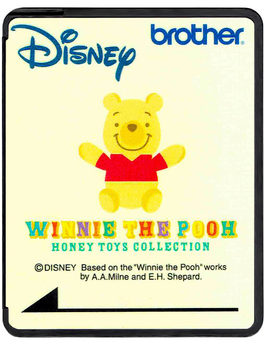 Disney Card Winnie The Pooh Honey Toys Collection