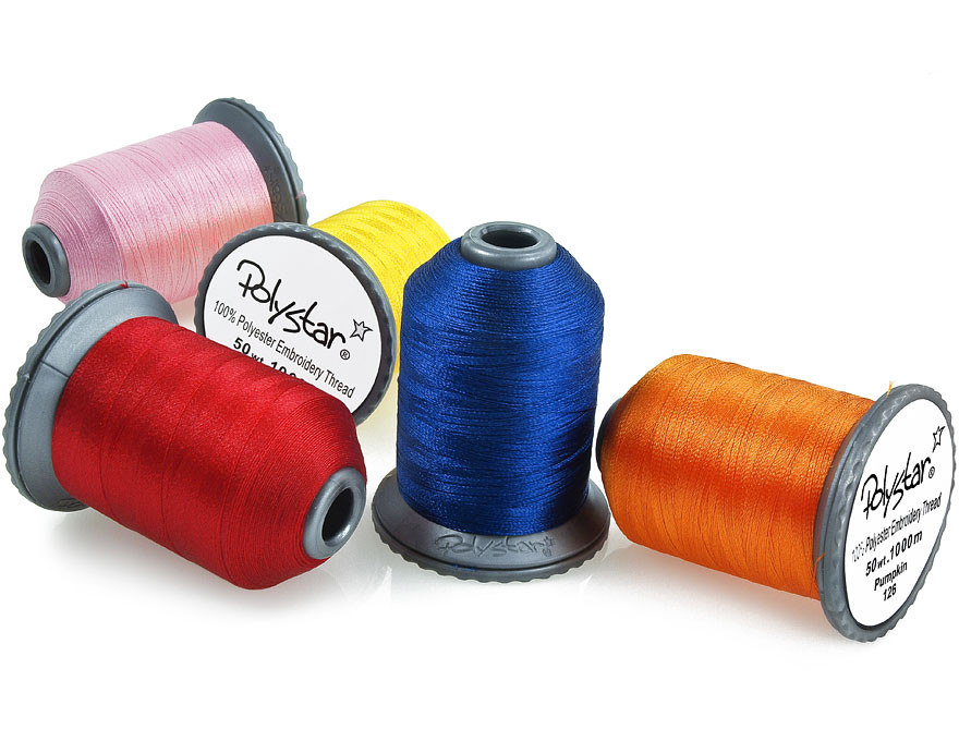 Polystar Embroidery Thread Spool Single Spools