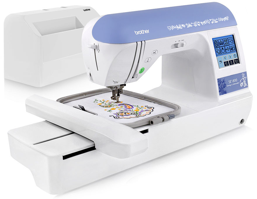 Brother SE40 Embroidery Sewing Machine FREE Shipping Unique Brother Sewing Quilting Machines