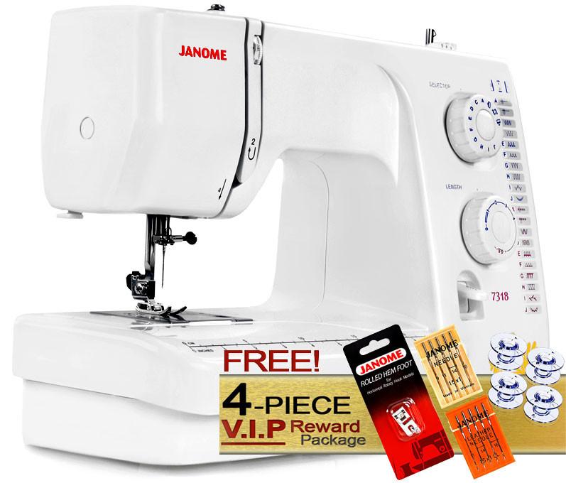 Janome 40 Sewing Machine FREE VIP Package Enchanting Janome Magnolia 7318 Sewing Machine