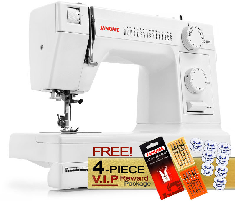 Janome HD40 Sewing Machine FREE VIP Package Inspiration Heavy Sewing Machine Needles