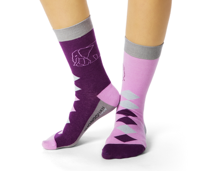 Ellie Diamond Socks