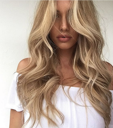 DIY: Bouncy Blowout With Extensions