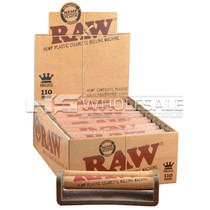 RAW - 110mm Hemp Plastic Rolling Machine Box
