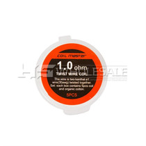 Coil Master - Twist Wire Coils 1.0ohm (5 Pack) #18