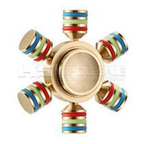 6 Wings Metal Fidget Hand Spinner