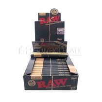 Raw - Black 1 1/4 Rolling Papers