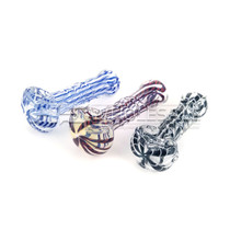 3'' ROUND MOUTH HAND PIPE *Individual Assorted*