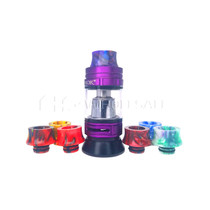Wide 2-Ring Resin 510 Drip Tip