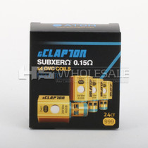 Atom - Ni200 TC CLAPTON COIL 0.15ohm (4 pack) FOR Kanger Subtank Mini, Subtank Plus & Subtank Nano