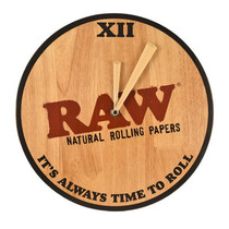 Raw - Wooden Wall Clock