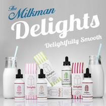 The Milkman Delights E-Liquid 60ML (MSRP $24.00)