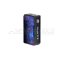 VOOPOO Black Drag Resin 157W TC Box MOD (MSRP $100.00)