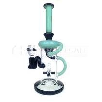"11"" Dank Glass Recycler Water Pipe"