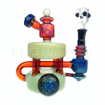 "8"" Dank Glass Double Stack Recycler"