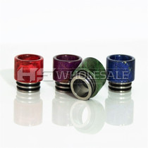 Drip Tips - Low Profile TFV8 TFV12 & Big Baby Beast Assorted Stabilized Wood Drip Tips